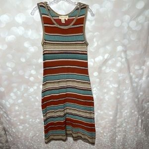 Territory Ahead Striped Knit Dress Size Small